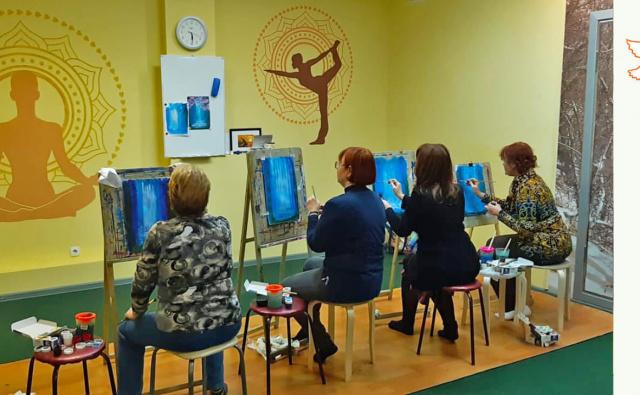 Thumbnail for - Помочь группе живописи выбраться на пленэр!